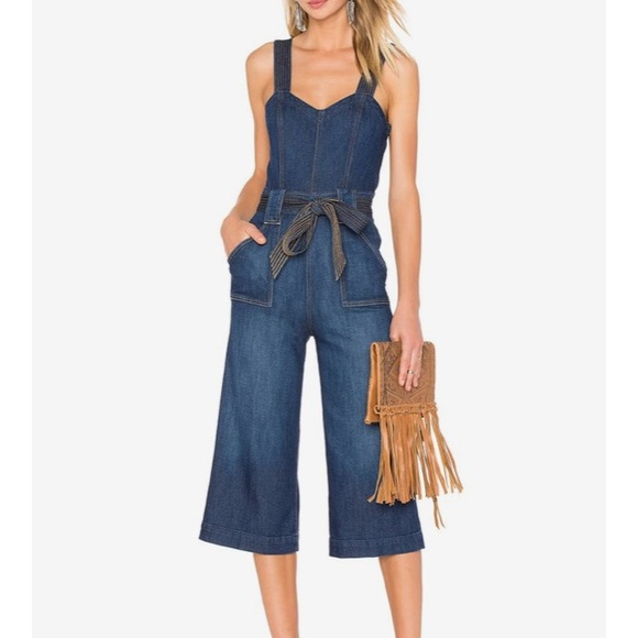 c3268fccac0d 7 For All Mankind Pants - 7 For All Mankind Denim Culotte Jumpsuit